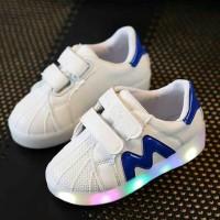 Jual Sepatu LED M Size 31 - 35 Murah