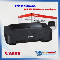 Printer Canon iP2770 NEW tanpa cartridge
