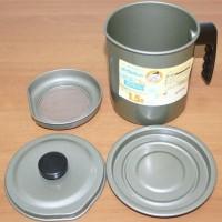 harga Akebonno Oil Pot Teflon Tempat Saringan Dan Simpan Minyak Goreng 1,5lt Tokopedia.com