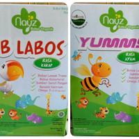 Nayz Bubur Bayi Organik rasa Sapi & Ayam & Tematik Lebrania