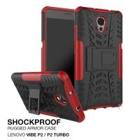 Lenovo Vibe P2 Turbo Rugged Armor Hard Soft case Casing Sarung TPU