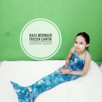 Jual baju mermaid frozen murah Murah