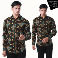 Harga kemeja batik kbgp 013 ekslusif butik quality formal casual office | antitipu.com
