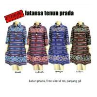 Jual Dress/Tunik Batik Latanza Tenun Prada Murah
