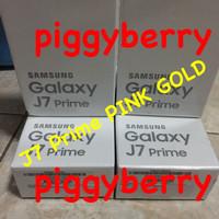 Samsung J7 Prime PINK GOLD New Garansi Resmi SEIN 1 Tahun