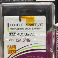 BATERAI ADVAN I5A DOUBLE POWER MERK LOGON BATRE BATTERY ADVAN I5A