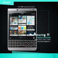 Jual BARU Tempered Glass Nillkin BlackBerry Passport Silver Amazing H Murah