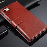 Harga wallet book cover casing pu leather flip case premium for xiaomi | Pembandingharga.com