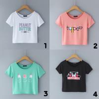 Kaos Kartun Korea / Printed T-Shirt #6000471