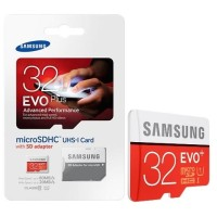 Memory Samsung 32 Gb Uhs-I 80mb/S Class 10 Evo Plus MicroSDHC Card