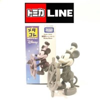 Jual TOMICA METACOLLE FIGURE DISNEY MICKEY MOUSE ( STEAMBOAT WILLIE TYPE ) Murah
