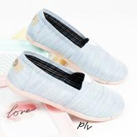 Jual Sepatu Flat Shoes Flatshoes Murah ala Wakai NS55 Sky Blue Murah