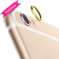 Jual Rear Camera Lens Protector Protective Metal Ring iPhone 6 / 6s Gold Murah