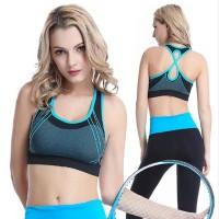 Jual Quick Dry Breathable Sport Bra for Yoga, Gym, Zumba Murah