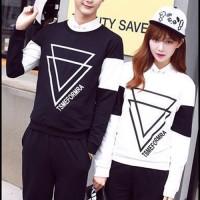 FREE ONGKIR Baju couple | Kaos Kapel | Pakaian Sama / Pasangan AS77