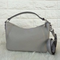 Jual  Michael Kors Fulton MD TZ Shoulder Pearl Grey Murah