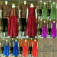 Sarimbit Cowo Lengan Panjang/ Couple Gamis/ Couple Batik / Baju pesta