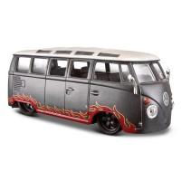 Maisto Design Outlaws Volkswagen Van Samba 1:25