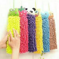 Jual Murah ! Lap Tangan Microfiber Chenile Micro Fiber Karakter Hand Towel  Murah