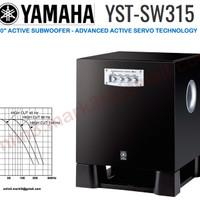 Yamaha YST SW315 active subwoofer sl jbl klipch polk infinity velodyne