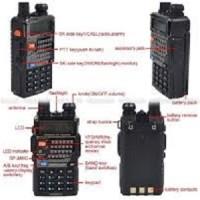 Handy talkie HT Baofeng UV5RE UV-5RE dual band walkie talkie