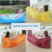 Jual New! Sofa Malas Air Bag / Kasur Angin Lamzac / Kursi Malas Murah