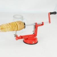Jual Promo Pemotong Kentang Spiral (Spiral Potato Slicer) murah grosir Murah