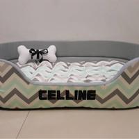 Jual Tempat Tidur Anjing Kucing Kelinci Hamster (100x70xm) Murah