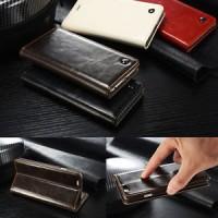 Samsung Galaxy S5 Caseme Wallet Leather Flip Cover Case Casing Kulit