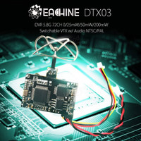 Eachine DTX03 DVR 5.8G 72CH VTX w/ Audio