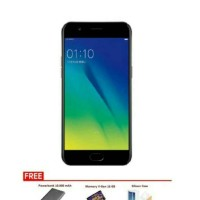 OPPO A57 [3GB/32GB] BLACK FREE POWERBANK + MMC