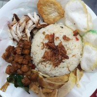 Jual Nasi Liwet ikan teri 100% halal Homemade Murah