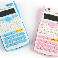 Jual Kalkulator Scientific Hello Kitty / Doraemon Murah