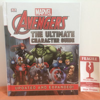 Buku Import Marvel Avengers The Ultimate Character Guide Updated Book