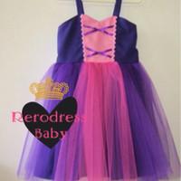 Dress Princess Tutu Anak Rapunzel