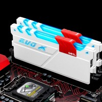 Jual GEIL DDR4 EVO X RGB LED PC24000 Dual Channel 32GB (2x16GB) 15-17-17-35 Murah