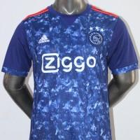 Jersey Baju Bola Ajax Amsterdam Away Adidas 17/18 Grade Ori 2017/2018