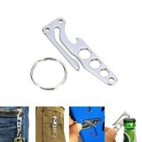 Jual EDC Pocket Key Holder Opener Mini Multi Tool Hex Wrench Murah