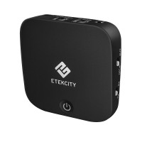 ETEKCITY 2-In-1 Bluetooth 4.1 AptX LL Receiver Transmitter W Digital