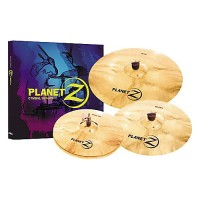 "Zildjian Planet Z 4 Cymbal Set (14"" pair, 16"" Crash, 20"" Ride)"