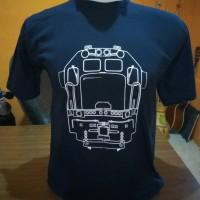 Kaos Gambar Kereta Api Indonesia