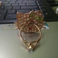 Jual i ring hello Kitty Doraemon diamond iring holder stant Murah