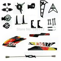 24pcs/lot toys v913 RC helicopter spare parts set