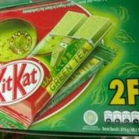Jual Kit Kat Green Tea Wafer 2F isi 48 pcs 816 g Murah