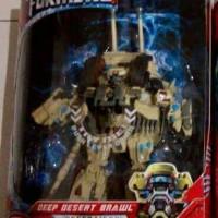 Transformers Deep Desert Brawl leader class Hasbro