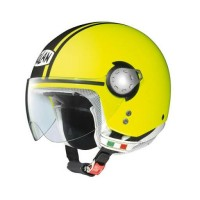 Helm Nolan N20 Traffic Caribe Fluo Yellow