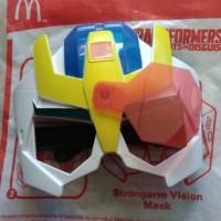Jual Mainan Happy Meal Mcd MCDONALD Topeng transformer Murah
