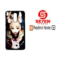 Casing HP Xiaomi Redmi Note 4 Anime Wallpaper 90 Custom Hardcase