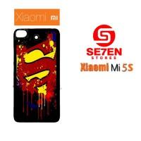 Hardcase Custom Casing XIAOMI MI5S Paint Splash Superman Logo Case