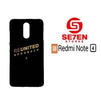Casing HP Xiaomi Redmi Note 4 Reunited Pogback Custom Hardcase